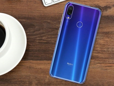 Силиконов гръб за Xiaomi Redmi Note 7, Прозрачен