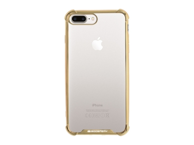 Силиконов Гръб Mercury WONDER за iPhone 7 Plus / iPhone 8 Plus, Златист