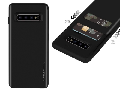 Калъф Гръб SKY SLIDE Mercury за Samsung Galaxy S10 Plus (G975), Черен