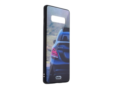 Пластмасов Гръб Glass Boter за Samsung Galaxy S10 Plus, AMG