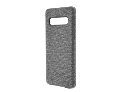 Пластмасов Гръб Texture за Samsung Galaxy S10 Plus - Grey