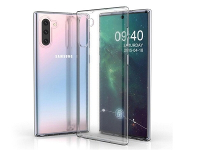 Силиконов гръб за Samsung Galaxy Note10, Прозрачен