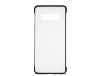 Пластмасов гръб C039 за Samsung Galaxy S10 Plus (G975) , Черен