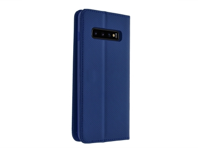 Калъф Тефтер Smart за Samsung Galaxy S10 Plus, Син