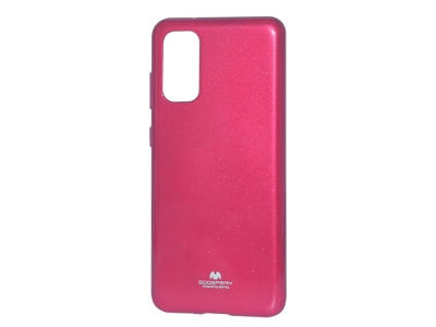 Силиконов гръб Jelly Mercury за Samsung Galaxy S20 PLUS  / S11, Розов