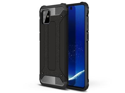 Удароустойчив гръб Armor за Samsung Galaxy A81/Note 10 Lite , Черен