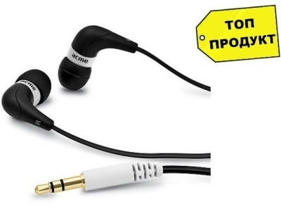 СЛУШАЛКИ ACME HE14 SMOOTH IN-EAR HEADPHONES